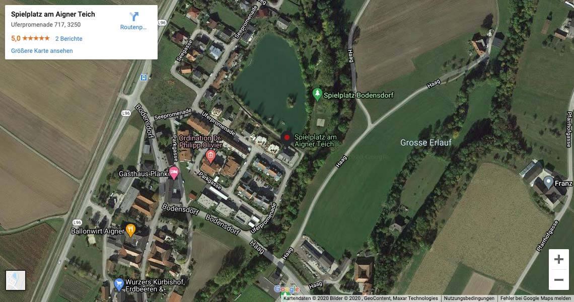 Weitblick-Immobilien-Wieselburg-Lage